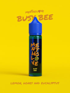 Busy Bee Mentholove E-Liquid By Go Bears 60ml Shortfill