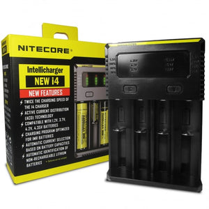Nitecore i4 4 Bay Vape Battery Charger