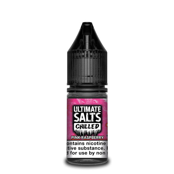 Ultimate Salts Chilled – Pink Raspberry. Devour the taste of freshly picked pink raspberries with a frosty finish.