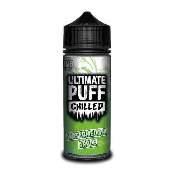 Ultimate Puff Chilled Watermelon Apple  Ultimate Puff Chilled Watermelon Apple – Frozen watermelon blended with sweet apple. A super refreshing vape.