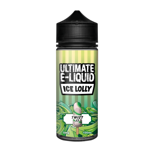 Twist It by Ultimate E-Liquid Ice Lolly 100ml Shortfill
