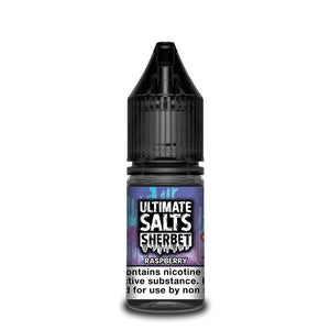 Ultimate Salts Sherbet – Raspberry. This refreshingly tangy raspberry sherbet is an all day vape you won't want to miss.