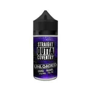 Unloaded E Liquid by Straight Outta Coventry 100ml
