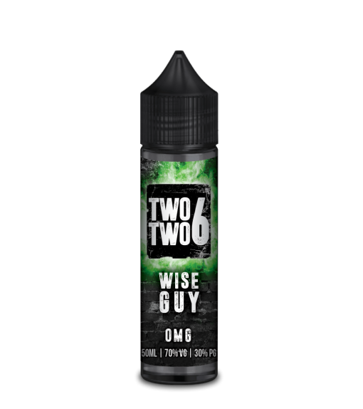 Wise Guy E Liquid By Two Two 6 60ml