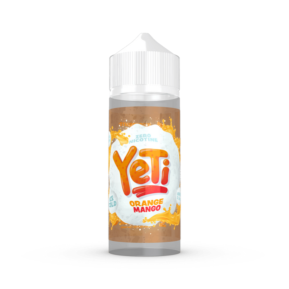 Orange and Mango E-Liquid By Yeti 120ml Shortfill