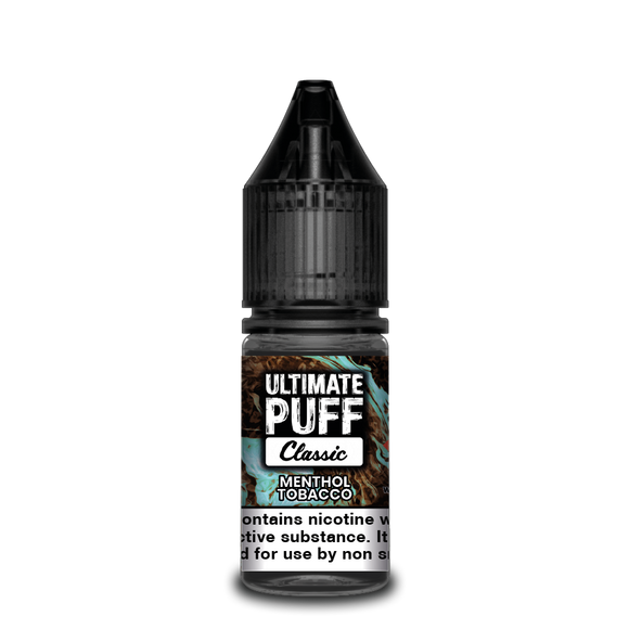 Menthol Tobacco 10ml by Ultimate Puff 50/50
