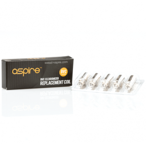 Aspire BVC 1.8ohm Coils 5 Pack