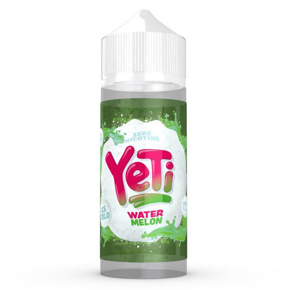 Watermelon E-Liquid By Yeti 120ml Shortfill