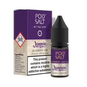 Blueberry Jam Tart by Pod Salt E Liquid 10ml