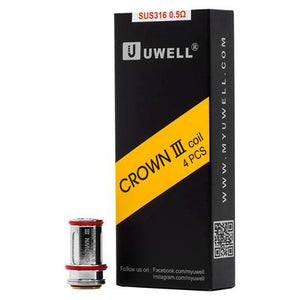 Uwell Crown 3 Replacement Coils - 4 Pack