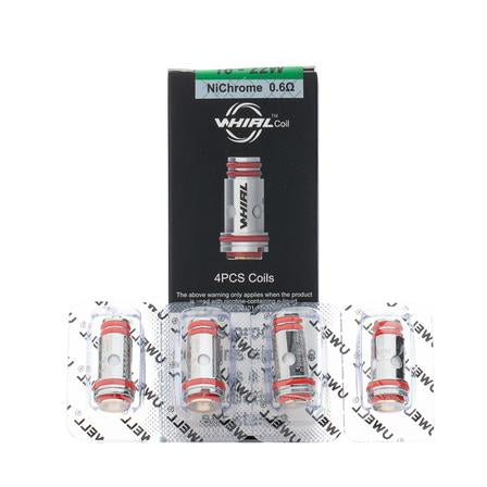 Uwell Whirl Replacement Coils - 4 Pack