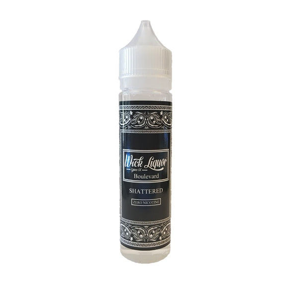 Boulevard Shattered Big Block E Liquid by Wick Liquor 60ml