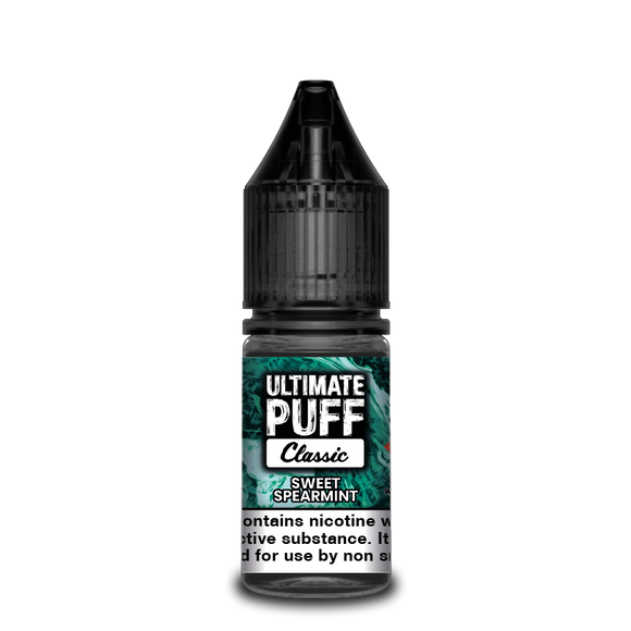 Sweet Spearmint 10ml by Ultimate Puff 50/50