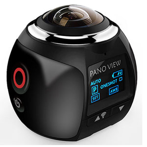 360/Panoramic Waterproof Action Camera - Hey Trending