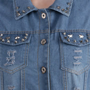 PAMILANO Denim Jacket - Light Blue - PAMILANO
