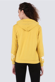 PAMILANO Sweatshirt with Hood - Yellow - PAMILANO