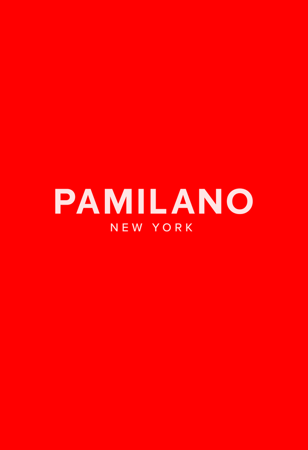 PAMILANO Fashion Logo Tee Red - W - PAMILANO