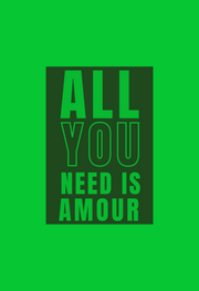 PAMILANO Fashion Tee - All you need is Amour - W - PAMILANO