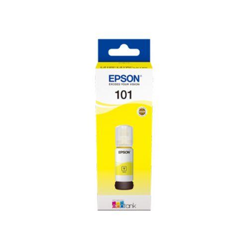 Genuine Epson 101 EcoTank Yellow Ink Bottle 70 ml - Innovative Computers Limited