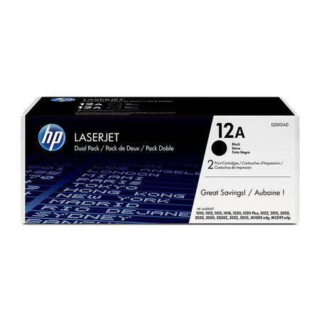HP 12A Black Toner Cartridge - Q2612A - Buy online at best prices in Kenya