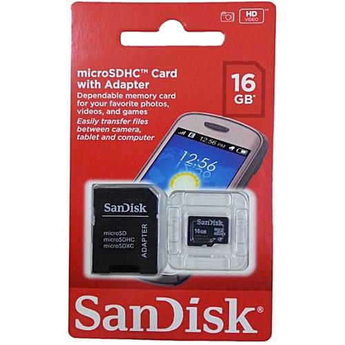 SanDisk 16GB MicroSD - Innovative Computers Limited