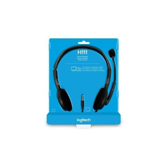 Logitech H111 Stereo Headset - 981-000612 - Buy online at best prices in Kenya