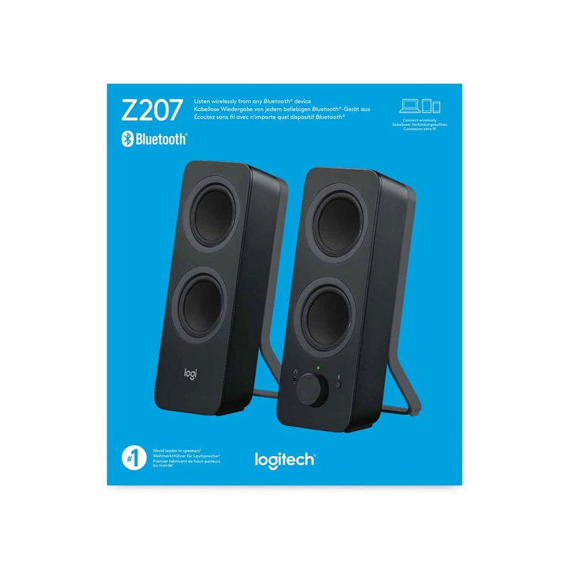 Logitech Z207 Bluetooth Computer Speakers (Black) - 980-001295 - Innovative Computers Limited