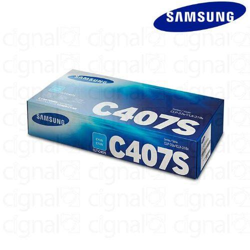 Samsung CLT-C407S Cyan Toner Cartridge |ST998A - Buy online at best prices in Kenya