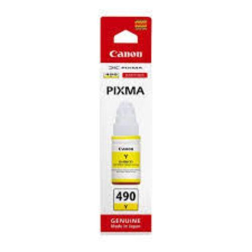 Canon GI-490 Yellow EMB Ink |GI-490Y - Buy online at best prices in Kenya