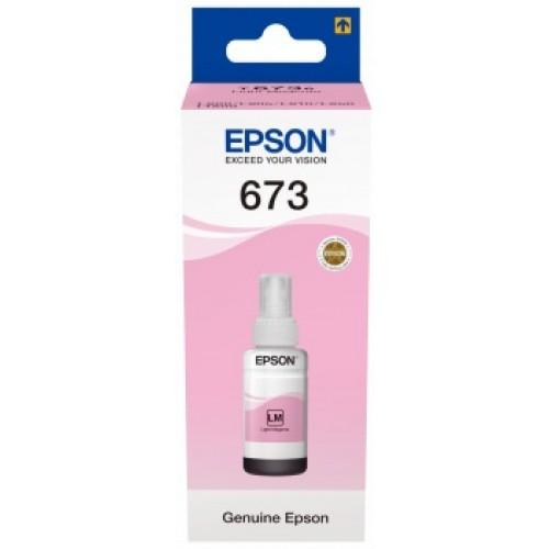 Genuine Epson C13T67364A Light Magenta Ink Bottle 70ml. - Innovative Computers Limited