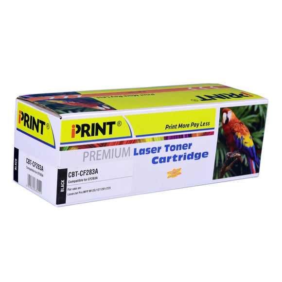 IPRINT CF283A Compatible Black Toner Cartridge for HP CF283A - Innovative Computers Limited
