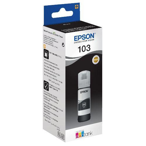 Genuine Epson 103 EcoTank Black Ink Bottle 65 ml - Buy online at best prices in Kenya