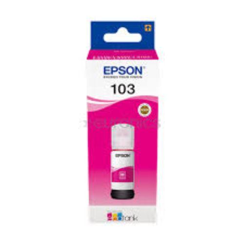 Genuine Epson 103 EcoTank Magenta Ink Bottle 65 ml - Buy online at best prices in Kenya
