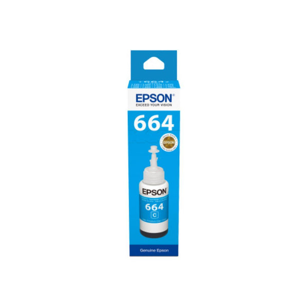 Genuine Epson C13T6642A Cyan Ink Bottle 70ml - Innovative Computers Limited