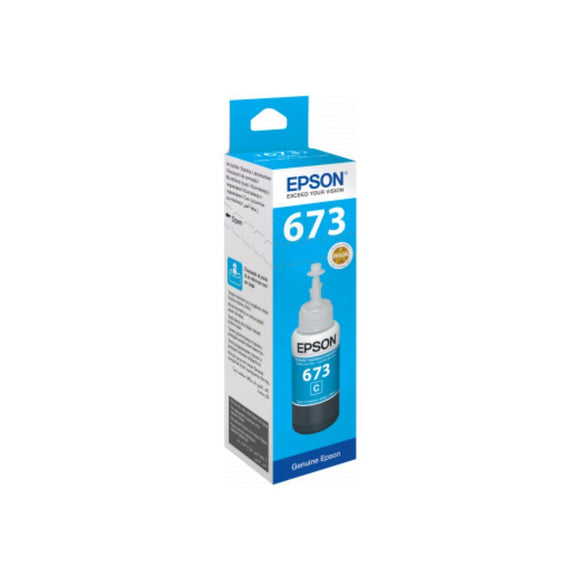 Epson T6732 CYAN INK BOTTLE 70ML - Innovative Computers Limited