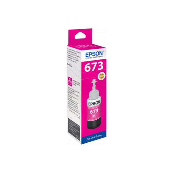 Genuine Epson C13T67334A Magenta Ink Bottle 70ml. - Innovative Computers Limited