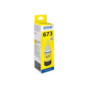 Genuine Epson C13T67344A Yellow Ink Bottle 70ml. - Innovative Computers Limited