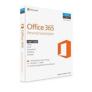 Office 365 Personal 32/64bit 1 year subscription Medialess - 1user - Innovative Computers Limited