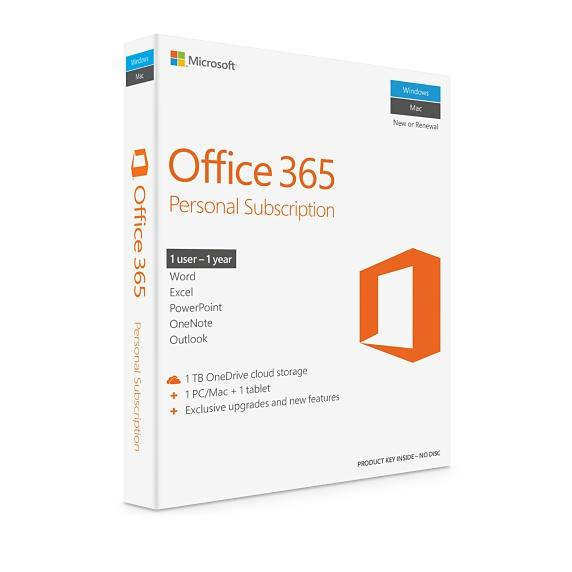 Microsoft Office 365 Personal 32/64bit 1 year subscription Medialess - 1user - Buy online at best prices in Kenya