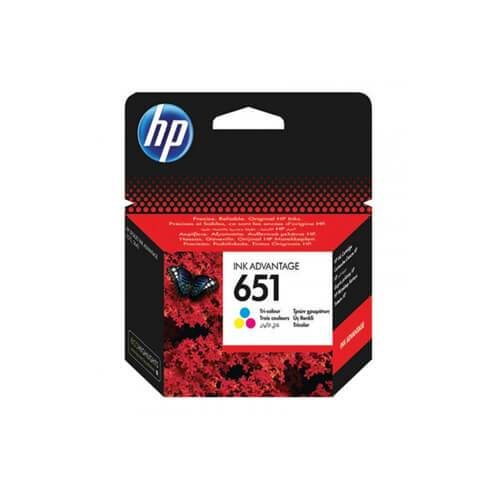 Genuine Color HP 651 Ink  Cartridge-(C2P11AE) - Innovative Computers Limited