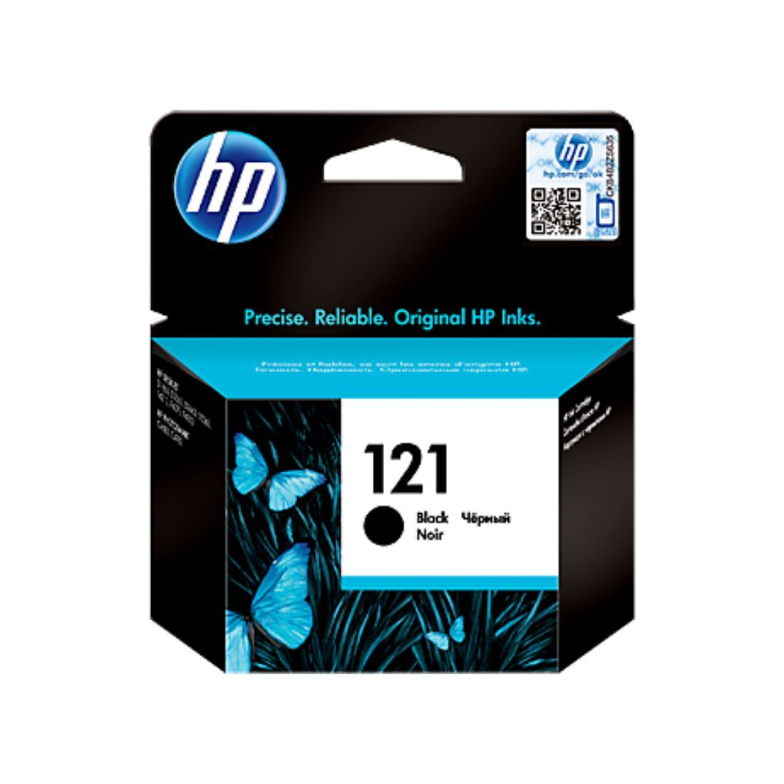 HP 121 Black Original Ink Cartridge - Innovative Computers Limited