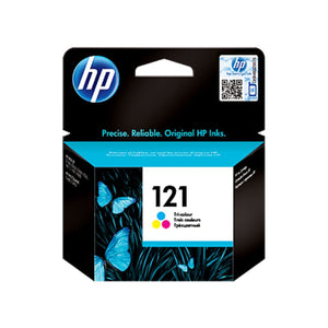 Genuine Tri-color HP 121 Ink Cartridge (CC643HE) - Innovative Computers Limited