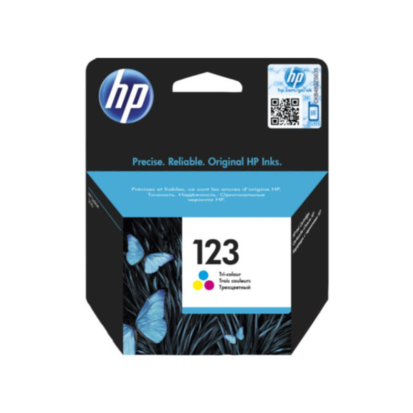 Genuine Color HP 123 Ink Cartridge (F6V16AE) - Innovative Computers Limited