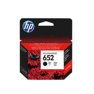 Genuine Black HP 652 Ink Advantage Cartridge-(F6V25AE) - Innovative Computers Limited
