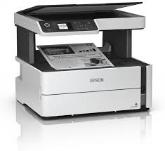 Epson EcoTank Monochrome M2140 All-in-One Ink Tank Printer (Black only, Print, Upto 20 ppm, Scan, Copy, Duplex) - Innovative Computers Limited