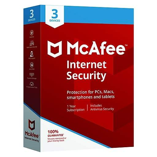 McAfee Internet Security-3 User - Buy online at best prices in Kenya
