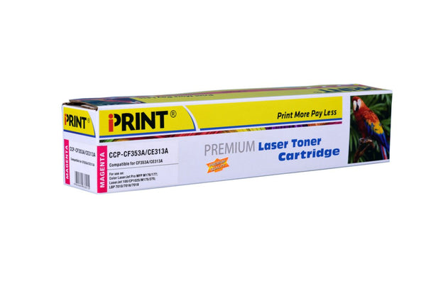 IPRINT CE313A Compatible Magenta Toner Cartridge for CE313A