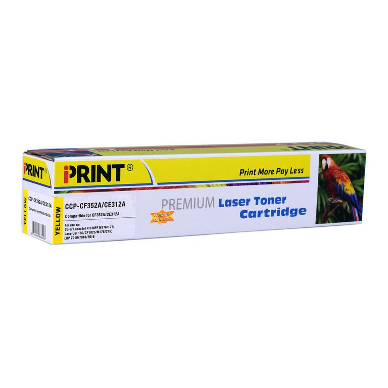 IPRINT CF352A/CE312A Compatible Yellow Toner Cartridge for HP 130A (CF352A) - Buy online at best prices in Kenya