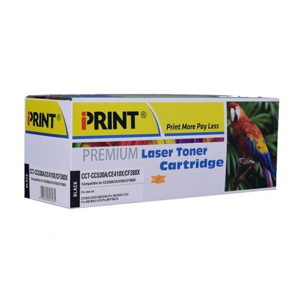 IPRINT  Compatible Black Toner Cartridge for CC530A ( HP CC530A)