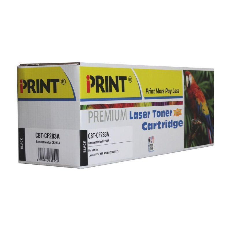 IPRINT CE283X Compatible Black Toner Cartridge for HP 83A - Buy online at best prices in Kenya